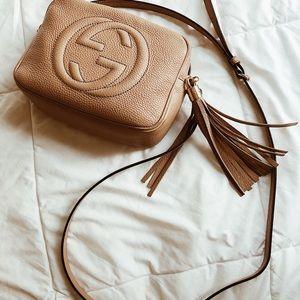 Gucci soho disco bag in rose beige